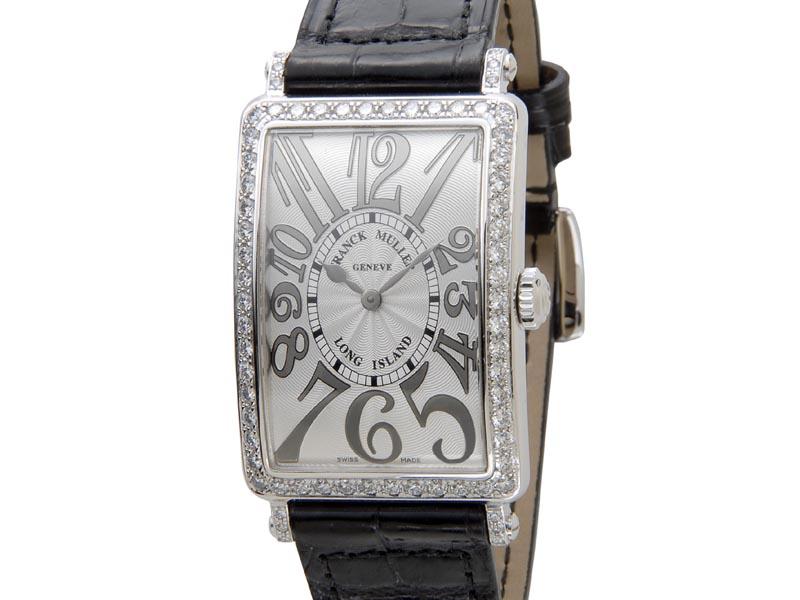 フランクミュラー FRANCK MULLER ロングアイランド 952QZD1R クロコダイル レディース 腕時計 新品