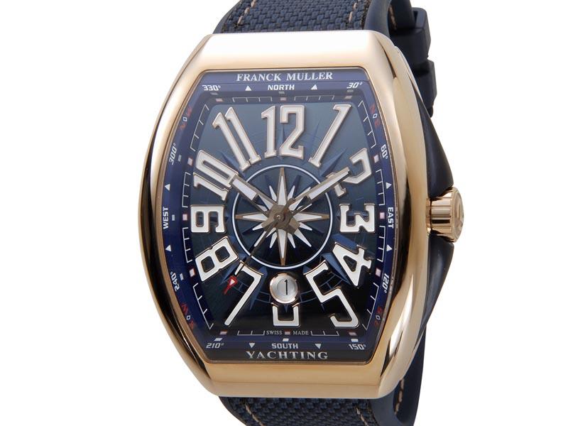 フランクミュラー FRANCK MULLER ヴァンガード V45SCDT ナイロン×ラバー メンズ 腕時計 新品 [ポイント5倍キャンペーン][8/3~8/17]