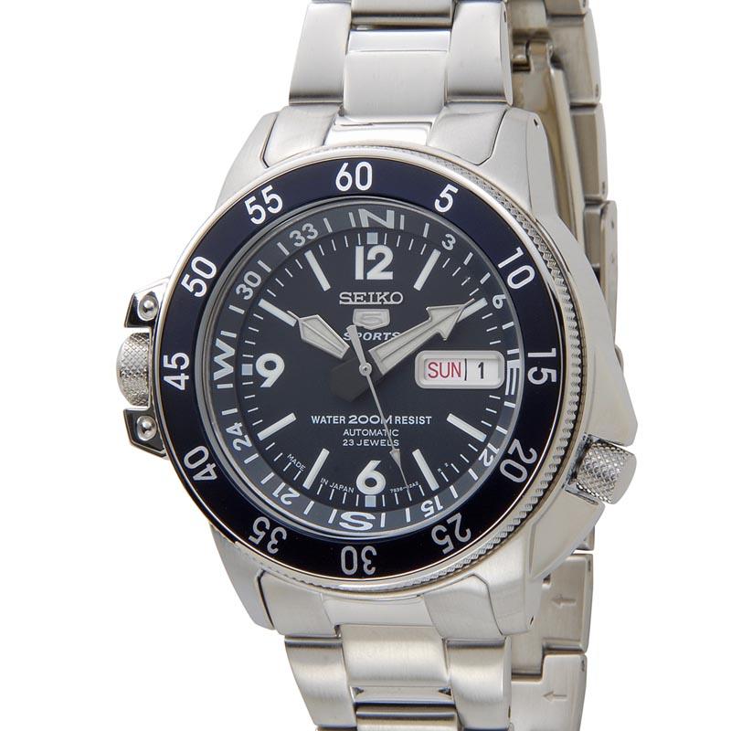 セイコー SEIKO メンズ 腕時計 SKZ209J1 セイコー5 ファイブ ダイバーズ 200m防水 オートマティック 海外モデル 新品 【送料無料】