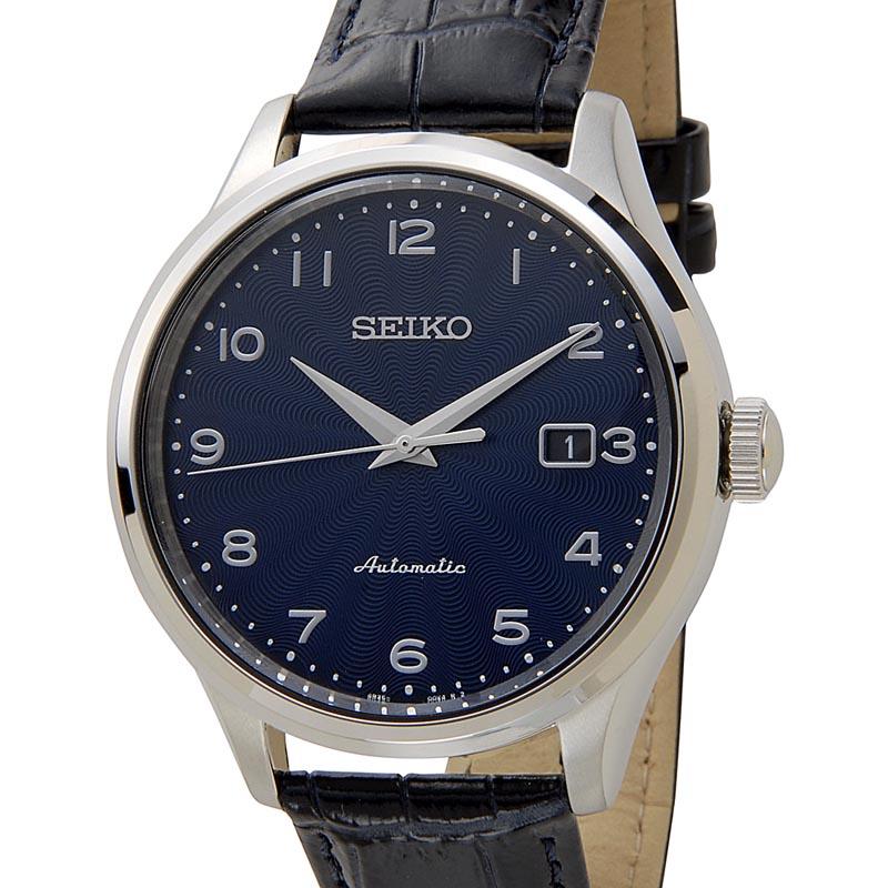 セイコー SEIKO メンズ 腕時計 SRPC21K1 CLASSIC クラシック オートマチック ネイビー×ブラック 新品 【送料無料】