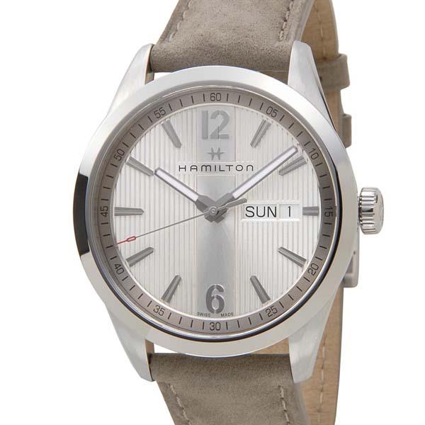 HAMILTON ハミルトン メンズ 腕時計 H43311915 Broadway ブロードウェイ デイデイト シルバー 新品 【送料無料】