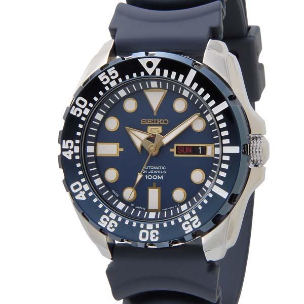 SEIKO セイコー ファイブ スポーツ SEIKO5 メンズ 腕時計 SRP605J2 自動巻き ネイビー 青 新品 【送料無料】 [ポイント5倍キャンペーン][8/3~8/17]