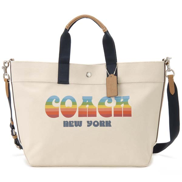 コーチ COACH トートバッグ レディース F72848 SVCAH キャンバスバッグ キャンバストート