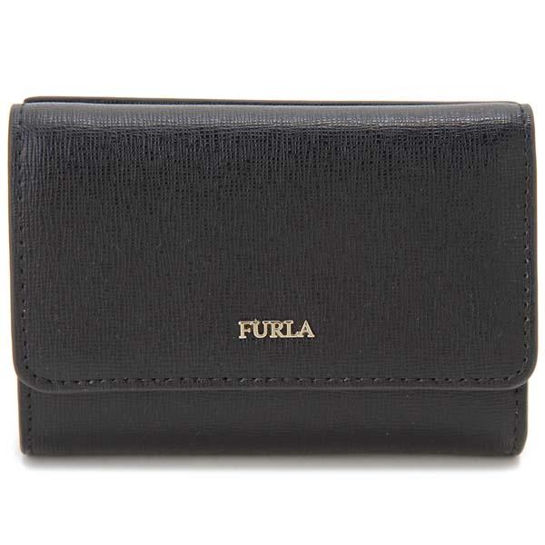 フルラ FURLA 三つ折り財布 バビロン コンパクト財布 ブラック レディース 872817