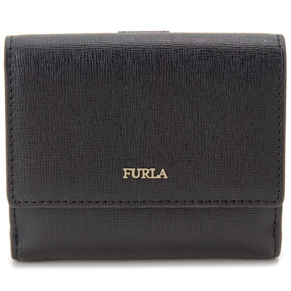 フルラ FURLA 二つ折り財布 バビロン ブラック レディース 978869
