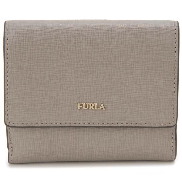 フルラ FURLA 二つ折り財布 バビロン グレー レディース 978870