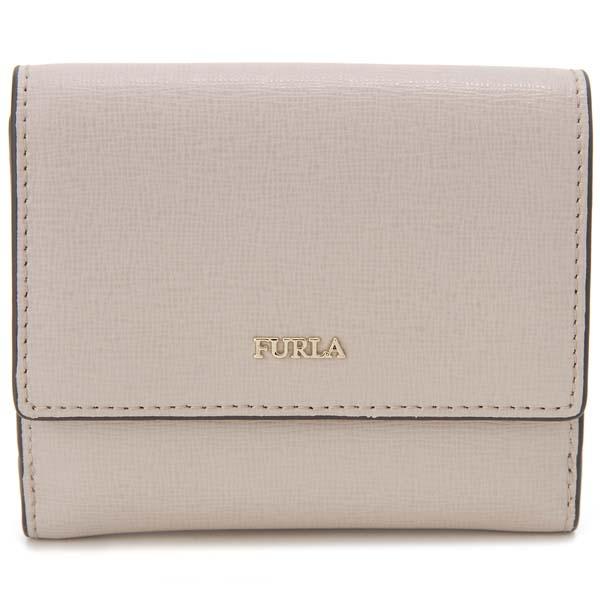 フルラ FURLA 二つ折り財布 バビロン ベージュ レディース 993880