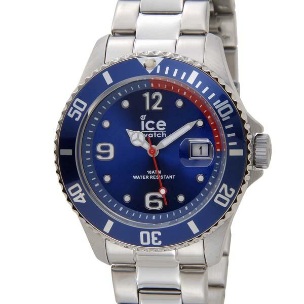 アイスウォッチ メンズ 腕時計 ハイクオリティ スーパーSALE割引対象 10%OFF ICE WATCH 43mm ミディアム 送料無料新品 アイス 青 ブルー 015769 スティール