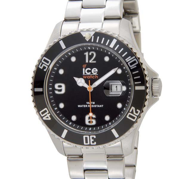 アイスウォッチ ICE WATCH アイス スティール ラージ 48mm ブラック 黒 016032 メンズ 腕時計 [ポイント5倍キャンペーン][8/3~8/17]