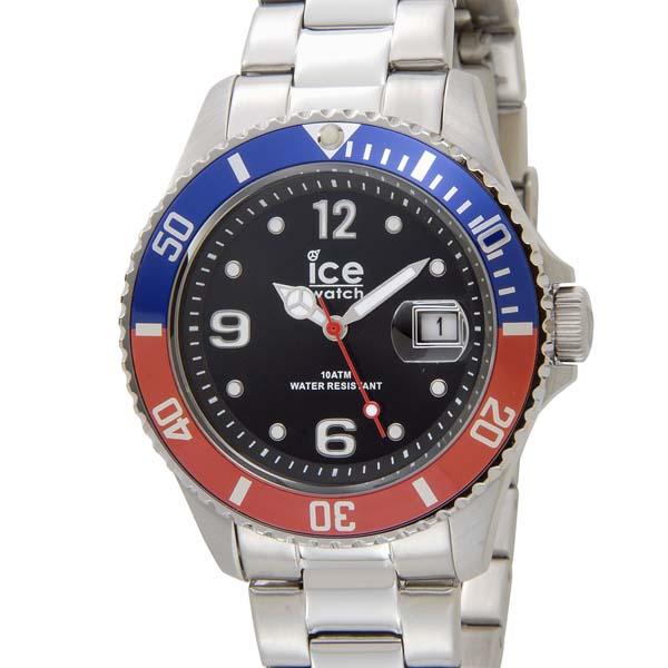 アイスウォッチ ICE WATCH アイス スティール ミディアム 43mm ユナイテッド ブルー×レッド 016545 メンズ 腕時計 [ポイント5倍キャンペーン][8/3~8/17]