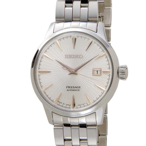 セイコー SEIKO メンズ Presage プレザージュ SRPB47J1 自動巻き シルバー 腕時計