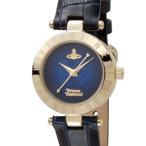 ヴィヴィアンウエストウッド VIVIENNE WESTWOOD レディース 腕時計 ネイビー×ゴールド VV092NVNV [ポイント5倍キャンペーン][8/3~8/17]
