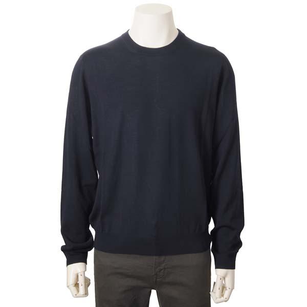 バレンシアガ BALENCIAGA ウール ニット セーター ネイビー メンズ 583117T14394170