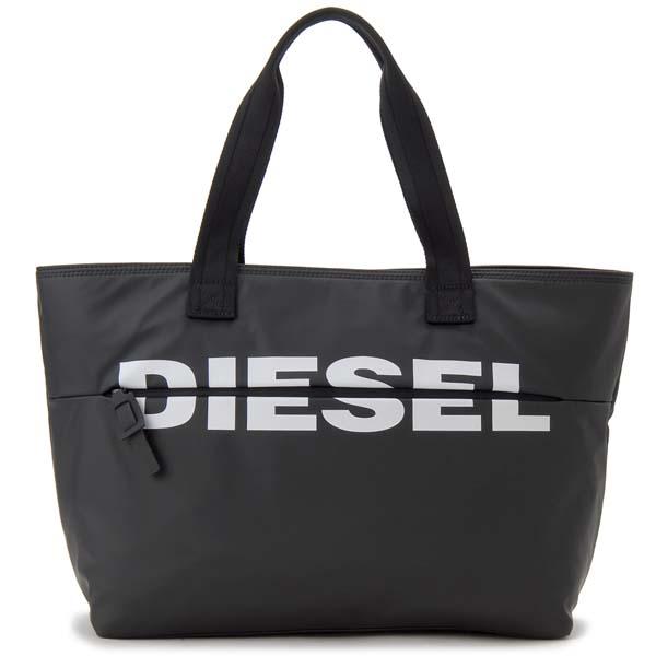 ディーゼル DIESEL トートバッグ ブラック 黒 メンズ レディース X06248 P1705 T8013