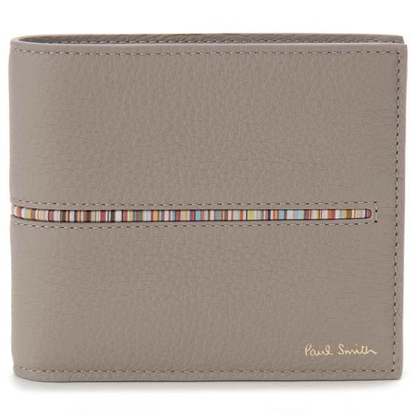ポールスミス Paul Smith 二つ折り財布 トープ メンズ M1A 4833 AINMST73 財布