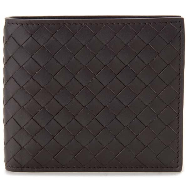 ボッテガヴェネタ BOTTEGA VENETA 二つ折り財布 メンズ ブラウン 193642 V4651 2006 イントレチャート 財布