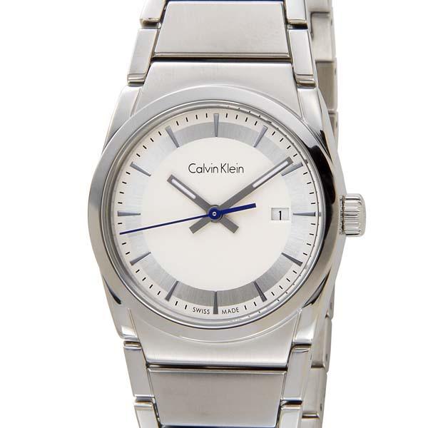カルバンクライン CALVIN KLEIN レディース 腕時計 K6K33146 Step ステップ シルバー ウォッチ 時計 [ポイント5倍キャンペーン][8/3~8/17]