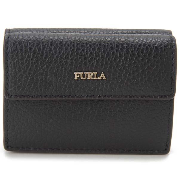 フルラ FURLA 三つ折り財布 レディース ブラック 1033355 BABYLON バビロン 財布