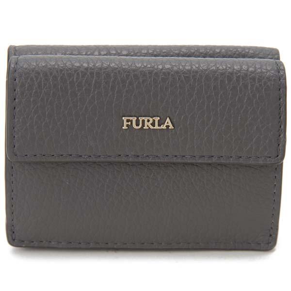 フルラ FURLA 三つ折り財布 レディース グレー 1033359 BABYLON バビロン 財布
