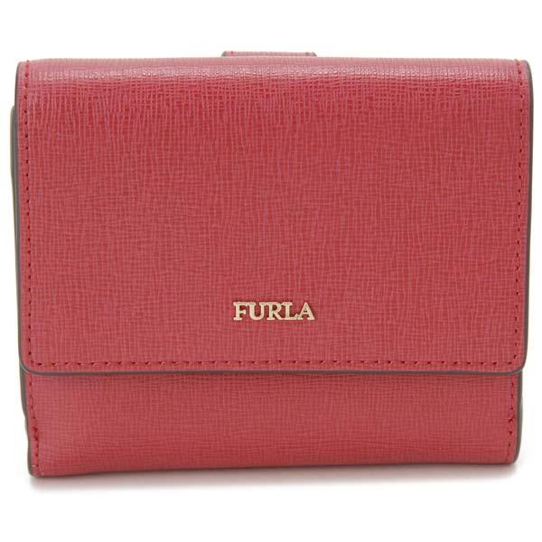 フルラ FURLA 二つ折り財布 レディース レッド 978871 BABYLON バビロン 財布