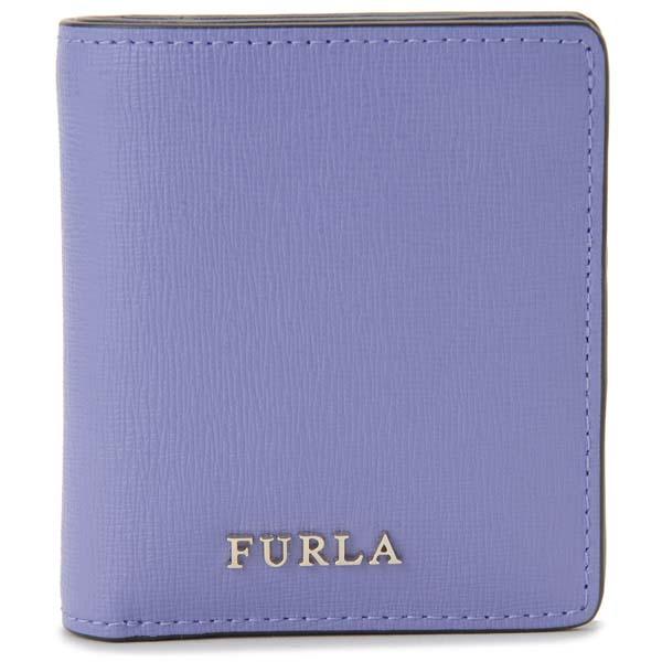 フルラ FURLA 二つ折り財布 レディース ラベンダー 979047 BABYLON バビロン