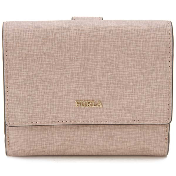 訳あり 内側小キズあり フルラ FURLA 二つ折り財布 レディース ピンク 993877 BABYLON バビロン 財布