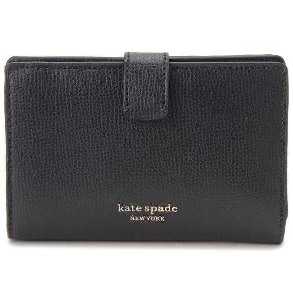 ケイトスペード KATE SPADE 二つ折り財布 レディース ブラック 黒 PWRU7230 001 財布