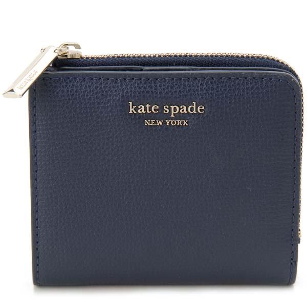 ケイトスペード KATE SPADE 二つ折り財布 レディース ネイビー PWRU7230 429 財布