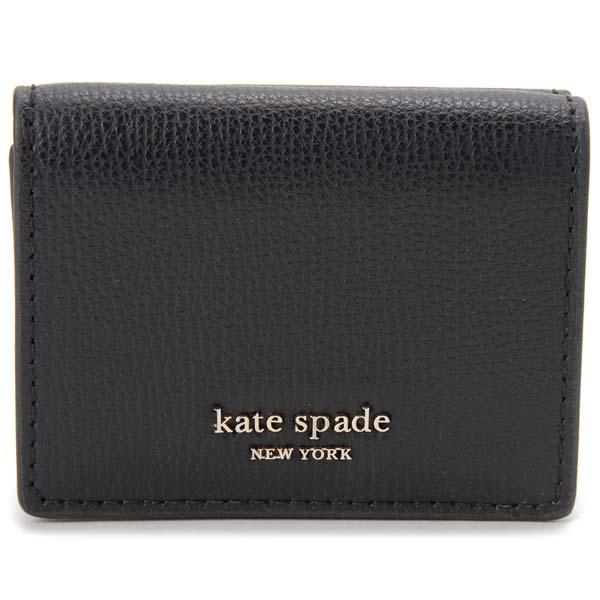 ケイトスペード KATE SPADE 三つ折り財布 レディース ブラック 黒 PWRU7395 001 財布