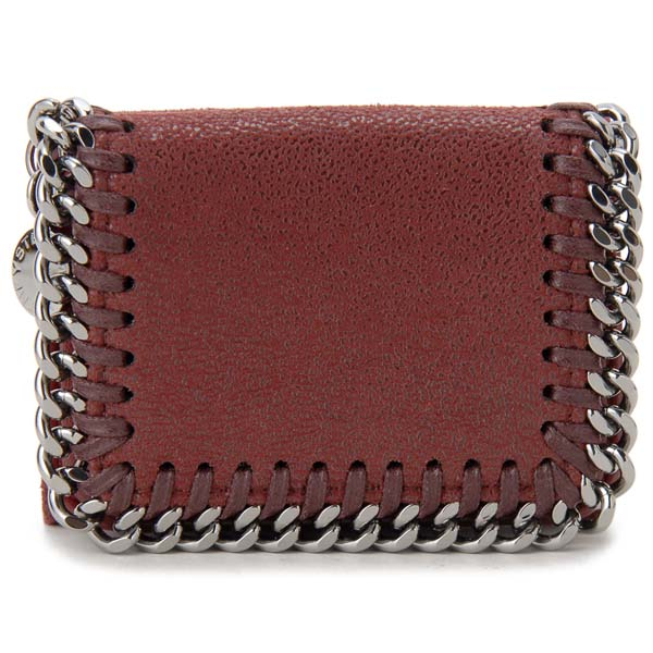 ステラ マッカートニー STELLA MCCARTNEY 三つ折り財布 レディース レッド 521371W9132-6261 ファラベラ