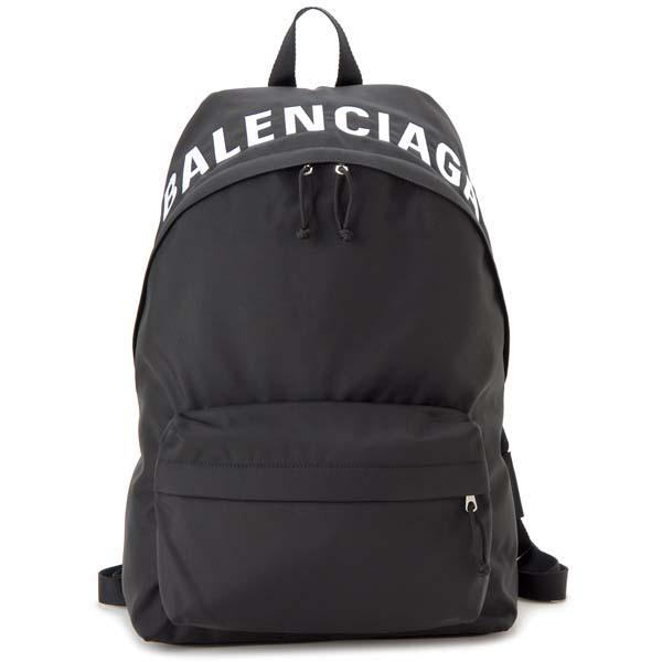 バレンシアガ BALENCIAGA リュック メンズ レディース ブラック 507460 HPG1X 1070 ウィール バックパック