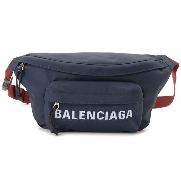 バレンシアガ BALENCIAGA ボディバッグ メンズ レディース ブルー 533009 HPG1X 4370 ウィール