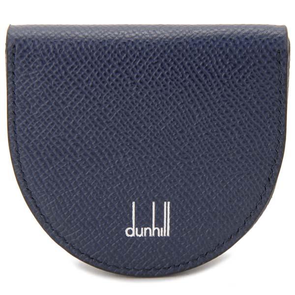 ダンヒル DUNHILL コインケース 小銭入れ メンズ ネイビー DU18F2010CA 410 CADOGAN カドガン ホースシュー