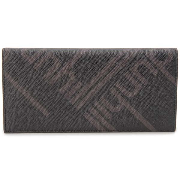 ダンヒル DUNHILL 長財布 長札 メンズ ネイビー DU19F2910SC 001 ラゲッジキャンバス 財布