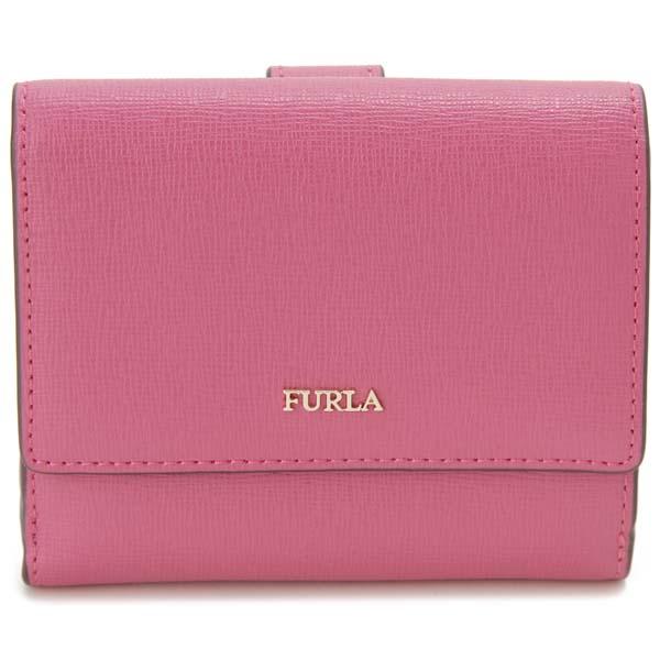 フルラ FURLA 二つ折り財布 レディース ピンク 1047007 BABYLON S バビロン コンパクト 財布