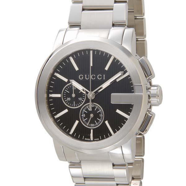 グッチ GUCCI メンズ 時計 YA101204 Gクロノ クオーツ クロノグラフ 腕時計 ウォッチ