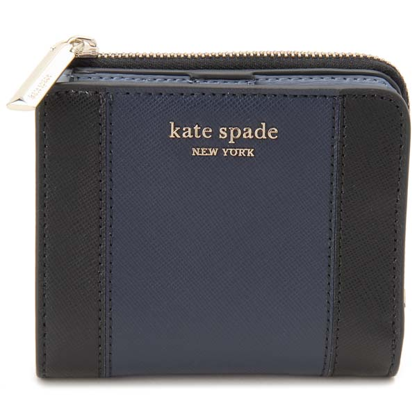 ケイトスペード KATE SPADE 二つ折り財布 レディース ネイビー PWRU7765 856 スペンサー コンパクト財布