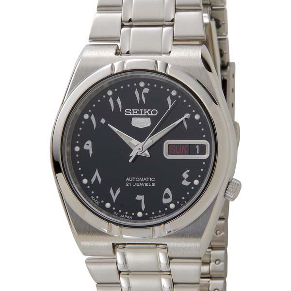 セイコー5 SEIKO5 腕時計 時計 メンズ ブラック SEIKO SNK063J5 セイコーファイブ [ポイント5倍キャンペーン][8/3~8/17]