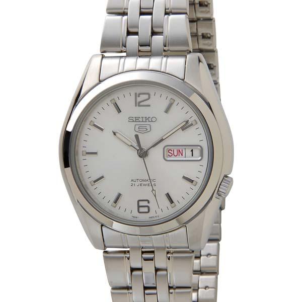 セイコー5 SEIKO5 腕時計 時計 メンズ シルバー SEIKO SNK385K セイコーファイブ