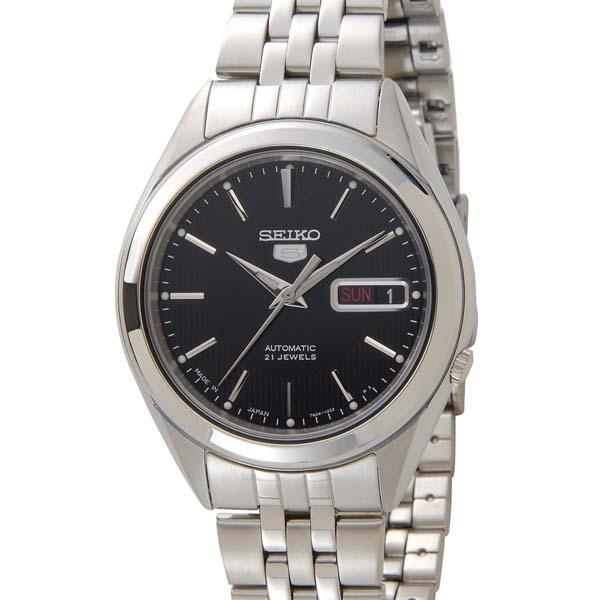 セイコー5 SEIKO5 腕時計 時計 メンズ ブラック SEIKO SNKL23K1 セイコーファイブ