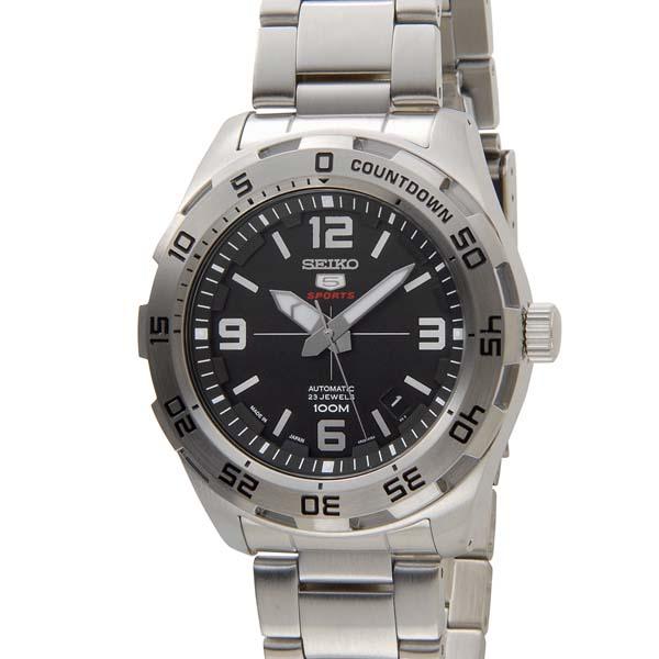 セイコー5 セイコーファイブ メンズ 時計 SRPB79J1 ブラック SEIKO セイコー 自動巻き 腕時計 ウォッチ [ポイント5倍キャンペーン][8/3~8/17]