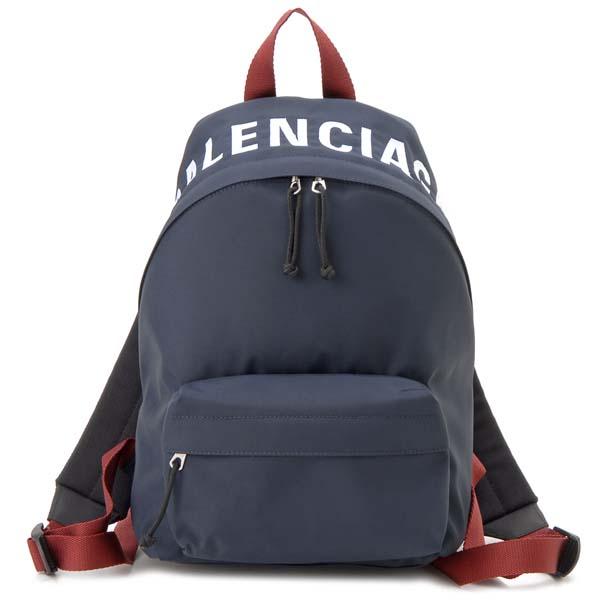 バレンシアガ BALENCIAGA リュック レディース ネイビー 565798 HPG1X 4370 ウィール スモール バックパック
