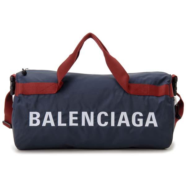 バレンシアガ BALENCIAGA ボストンバッグ ドラムバッグ 581807 HPG1X 4370 WHEEL ウィール ジムバッグ