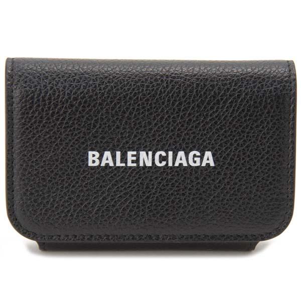 バレンシアガ BALENCIAGA カードケース ブラック 594225 1IZ4M 1090 パスケース 名刺入れ