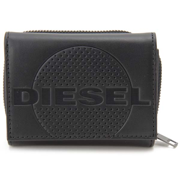 ディーゼル DIESEL 三つ折り財布 メンズ ブラック X06652PR160T8013 SPEJAP