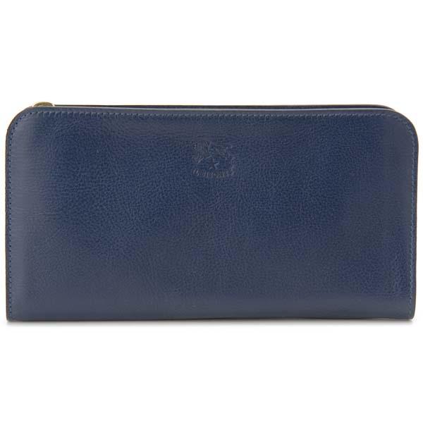 イルビゾンテ IL BISONTE 長財布 C0909 P 866 ブルー メンズ レディース