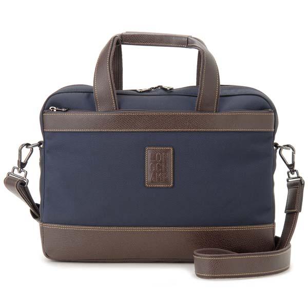 ロンシャン LONGCHAMP ブリーフケース ビジネスバッグ メンズ ブルー 1486 080 127 BOXFORD ボックスフォード
