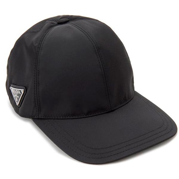 プラダ PRADA 帽子 ベースボールキャップ Lサイズ 1HC274 2B15 F0002 ナイロン キャップ メンズ/レディース