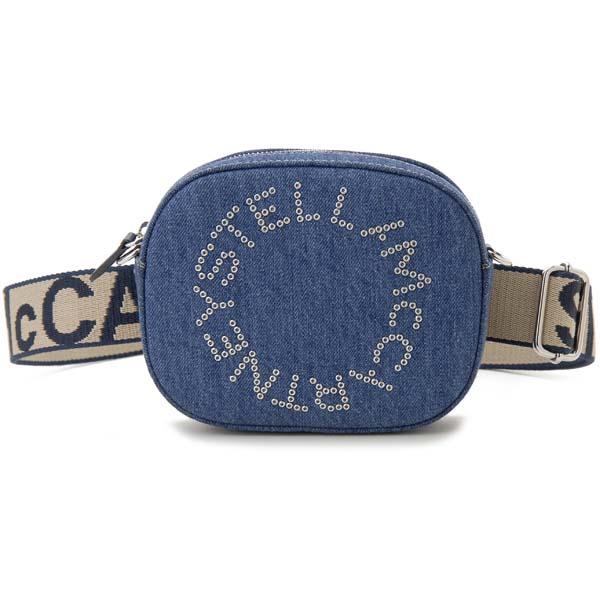 ステラ マッカートニー STELLA MCCARTNEY ショルダーバッグ レディース デニム ブルー 557903W8642-4324