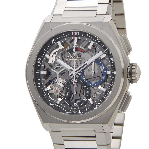ゼニス Zenith メンズ 腕時計 03.2040.4061/21.R576 DEFY El Primero エルプリメロ21 クロノグラフ